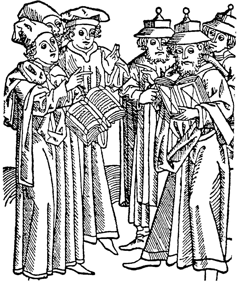 Medieval Nobleman Drawing