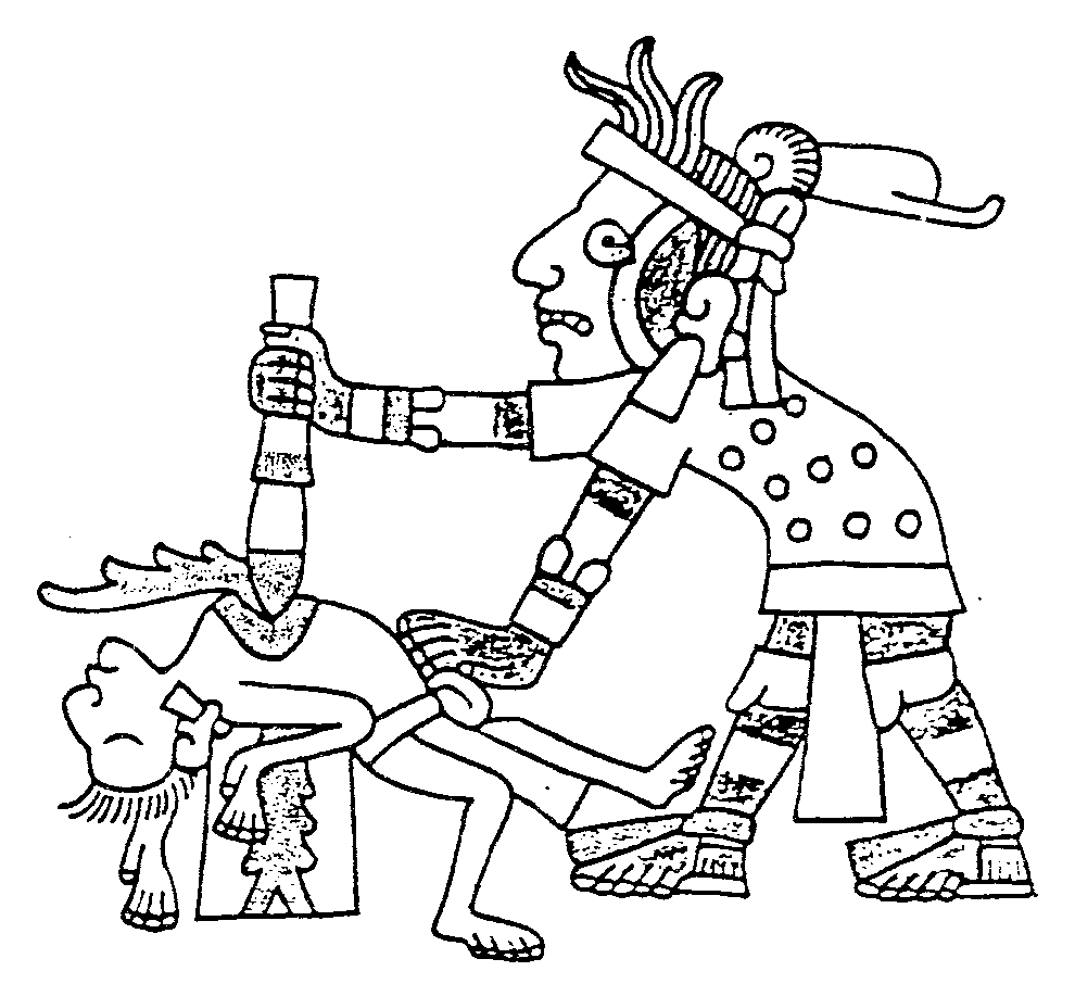 Aztec Indians Drawings Contemporary Aztec Drawing